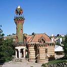 El Capricho (1885 by Gaudí), Comillas. Cantabria, Spain