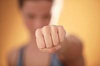 Woman´s fist