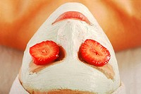 Young woman with cream on face (thumbnail)