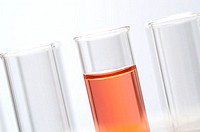 Close-up of chemical in a test tube