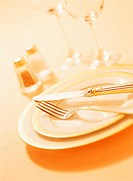 Close Up of a Table Setting