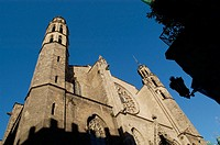Church of Santa Maria del Mar, Barcelona. Catalonia, Spain