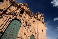 The Cathedral. Plaza de Armas, Cuzco, Perù