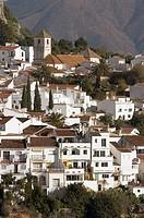 Gaucín. Genal river valley, Serranía de Ronda. Málaga province, Andalusia, Spain