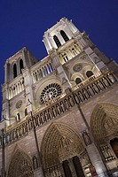 Notre Dame cathedral, Paris. France