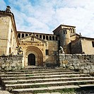 Santa Juliana Romanesque collegiate church. Santillana del Mar. Cantabria, Spain