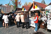 Easter´s market, Old Town Square, Prague