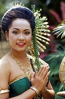 Thailand, Pattaya, Thai Dancer