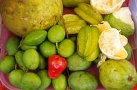Malaysia, Koto Bharu, Food, Street Stall, Tropical Fruit