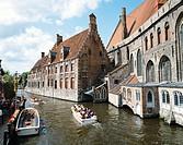 Memling Museum in the St. John´s Hospital complex. Brugge. Flanders, Belgium