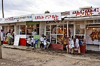 Butcher´s shop near Addis Abeba. Ethiopia.