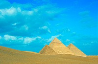 Pyramids of Gizeh, Cairo, Egypt