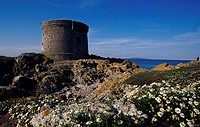 Martello Tower Ireland´s Eye Island Ireland