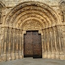 Romanesque architecture. Estella. Lizarra. Navarra. Spain