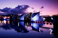 Lagan River Belfast Northern Ireland