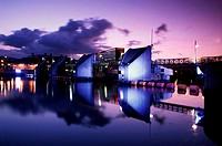 Lagan River Belfast Northern Ireland