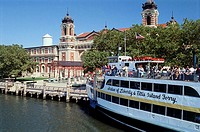 Ellis Island Immigration Museum Ellis Island National Monument New York City USA