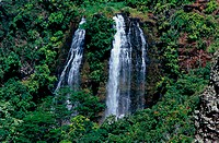 Opaekaa Falls Kauai Hawaii USA