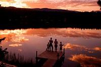 Columbine Lake Colorado USA
