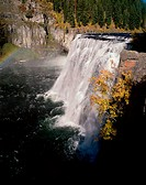 Upper Mesa Falls Idaho USA