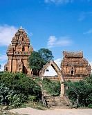 Po Klong Garai Cham Towers, Ninh Thuan, Vietnam