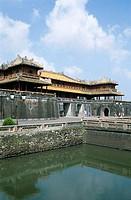 Main Entrance, Ngo Mon Gate, The Citadel, Imperial Palace, Hue, Vietnam