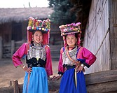 Lisu Tribe Women, Hill Tribe People, Chiang Mai, Golden Triangle, Thailand