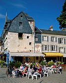 Outdoor Cafes, Honfleur, Normandy, France