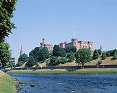 Inverness Castle and Ness River, Inverness, Scotland