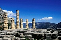 Temple of Apollo Delphi Greece