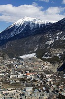 Town View. Daytime. Europe´s Highest Town (elev. 4334Ft/1321 M). Briançon. Haut-Alpes. French Alps. France.