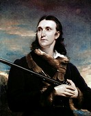 Portrait of John James Audubon John Syme (1795-1861 British)  White House, Washington, D.C., USA