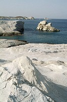 Milos. Cyclades islands, Greece