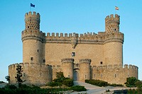 Manzanares el Real castle, Madrid, Spain