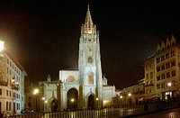 Cathedral, Oviedo. Asturias, Spain