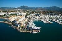 Puerto Banús, Marbella. Málaga province, Costa del Sol, Andalusia, Spain
