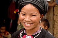 Black Dao woman, Tam Duong, North Vietnam