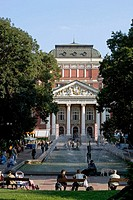Ivan Vazov National Theatre, Sofia. Bulgaria