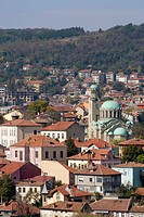 Cathedral church of the Nativity of the Holy Virgin in old town, Veliko Tarnovo. Bulgaria