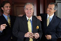 Portrait of three businessmen