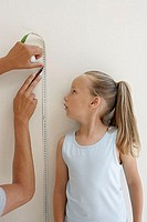 Measuring a childs height