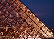 Pyramid, Louvre Museum, Paris, France