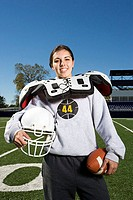 Female american footballer