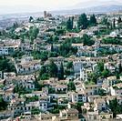 Albaicín, Granada. Andalusia, Spain
