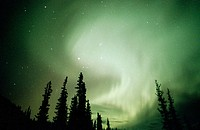 Aurora Borealis or Nothern Lights. Brooks range. Alaska. USA