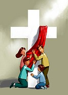 Illustration images about christianity