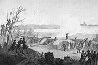 Siege of Yorktown Virginia 1862. Drawn by F. B. Schell.