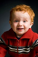 Portrait of a baby boy smiling (thumbnail)