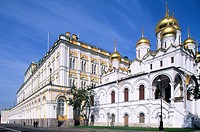 Cathedral of the Annunciation, Kremlin. Moscow, Russia