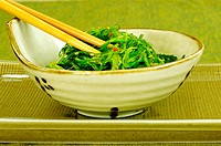 Close-up of salad in a bowl (thumbnail)